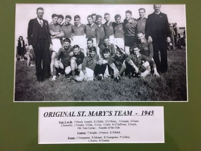 SMJFNC 1945 Original St.Mary's Team sm